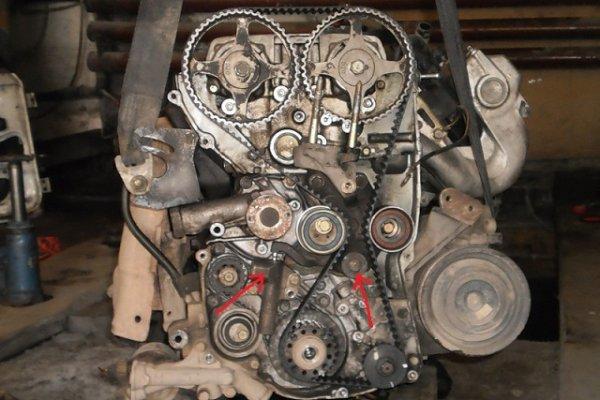 Мотор ховер мицу 2.4 и тиго 2.4